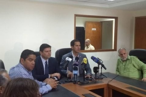 Diputado Guaidó, Comision, AN