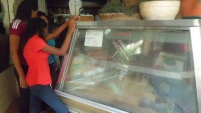 Escasez de carne en Caracas