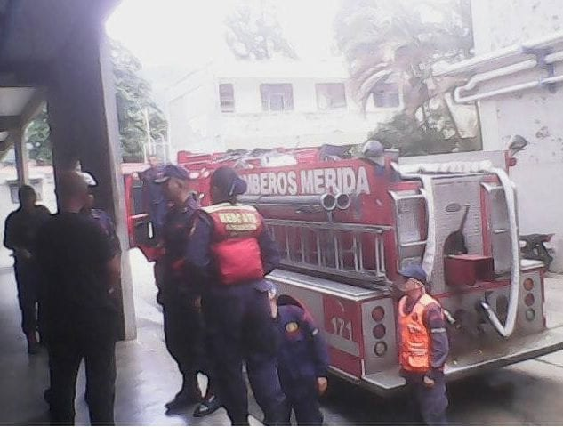 bomberos de mérida