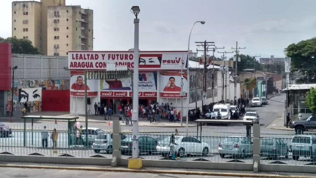 El psuv se concentró frente a la oposición en Maracay