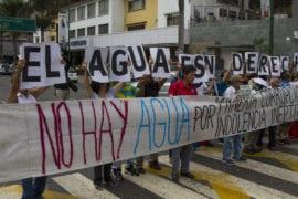 derechos ambientales|el agua no llega