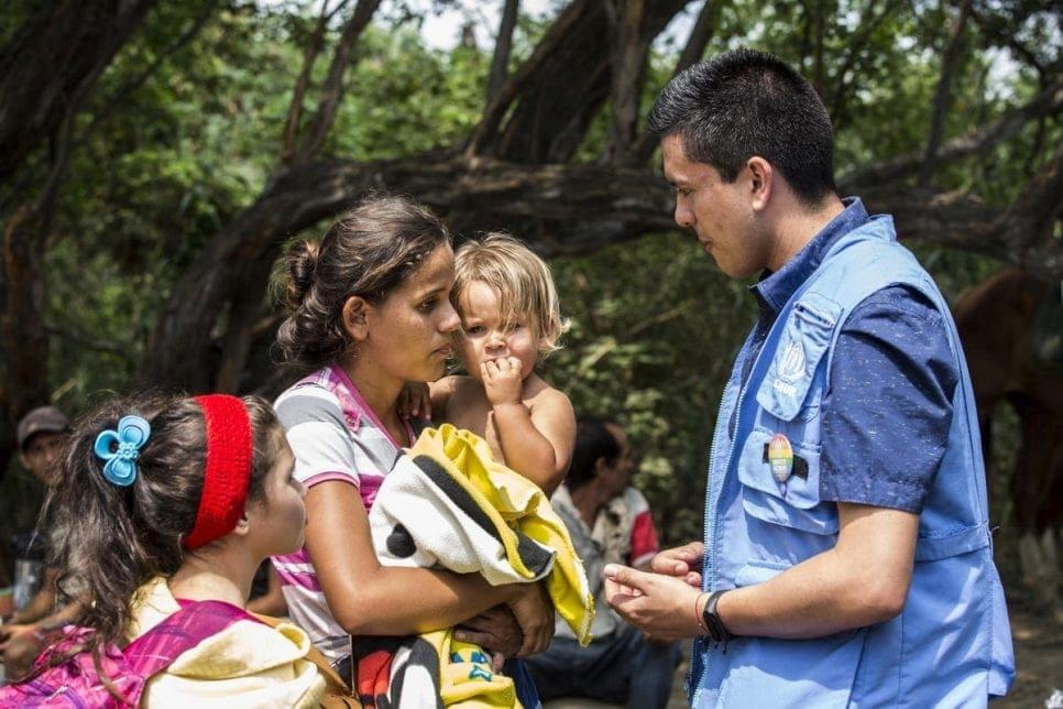 Acnur | Migrantes y refugiados| migrantes venezolanos