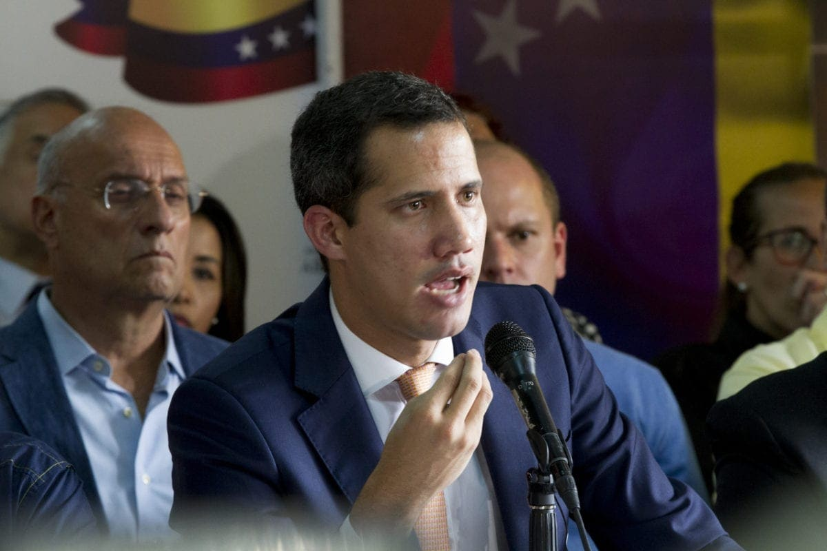 Juan Guaidó habla sobre detención de Edgar Zambrano | secuestro de edgar zambrano