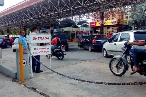 Racionamiento de gasolina