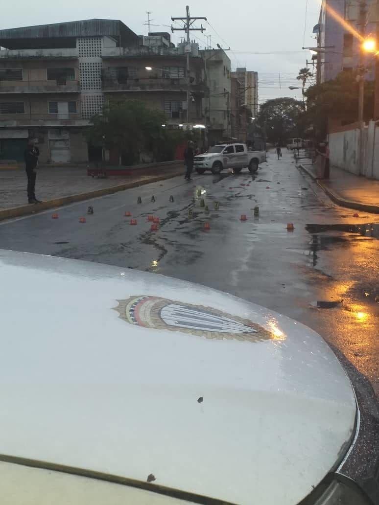 Atentado contra sede Cicpc Aragua