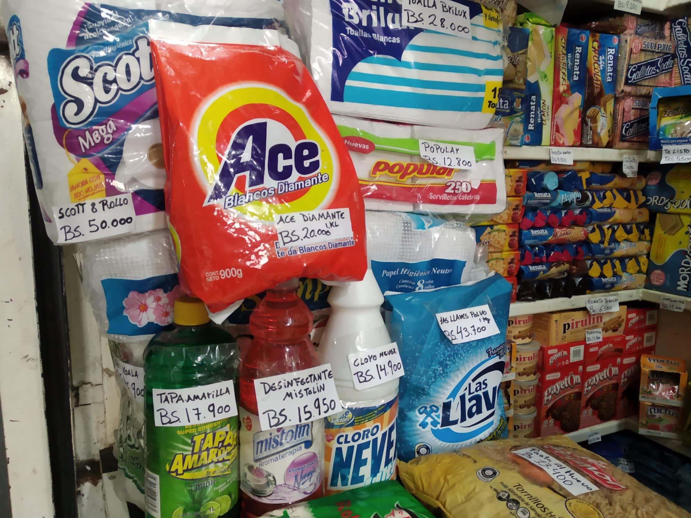 productos de limpieza importados