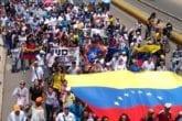 Marcha contra toma del rectorado de UDO