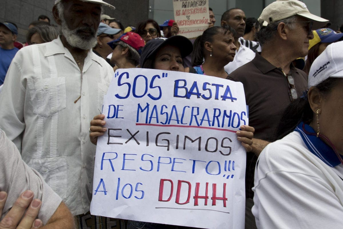 198 militares venezolanos están detenidos por