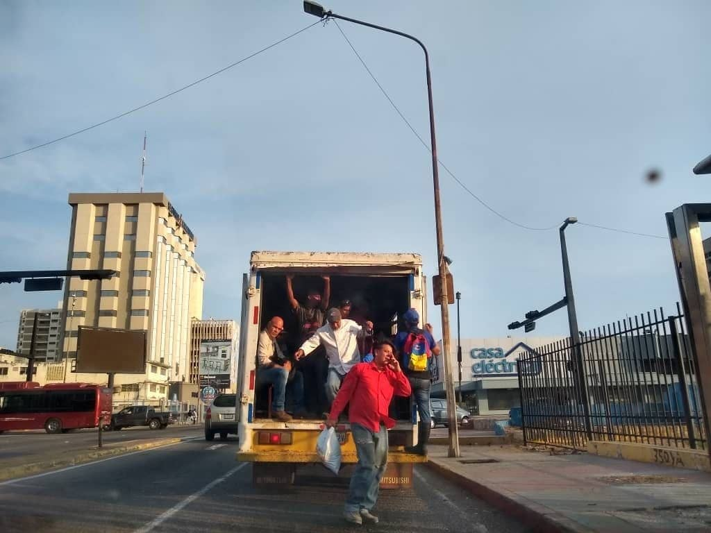 Transporte público paralizado en Maracaibo