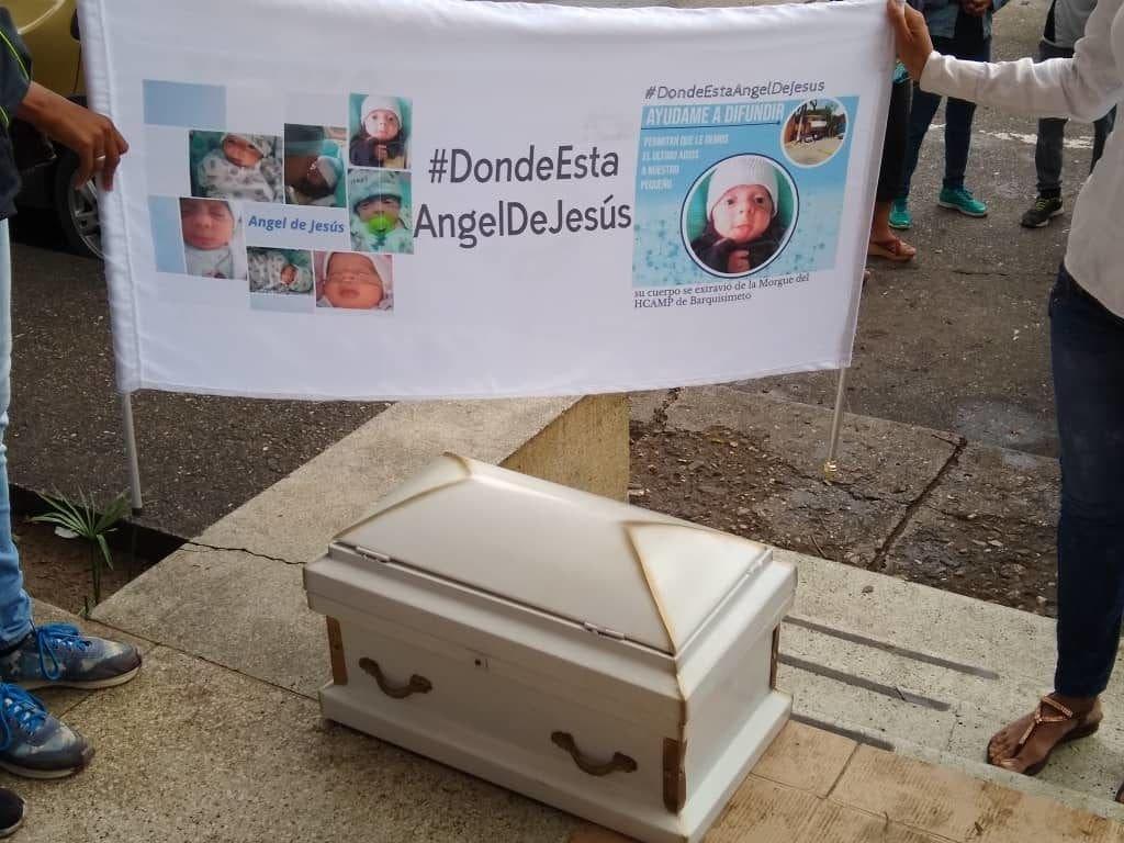 desparicion del cadaver del bebe montes de oca aranguren