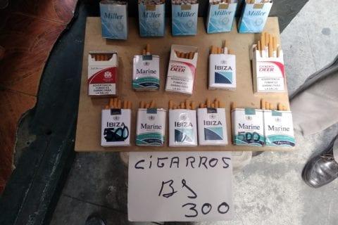 Contrabando de Cigarrillos en Venezuela