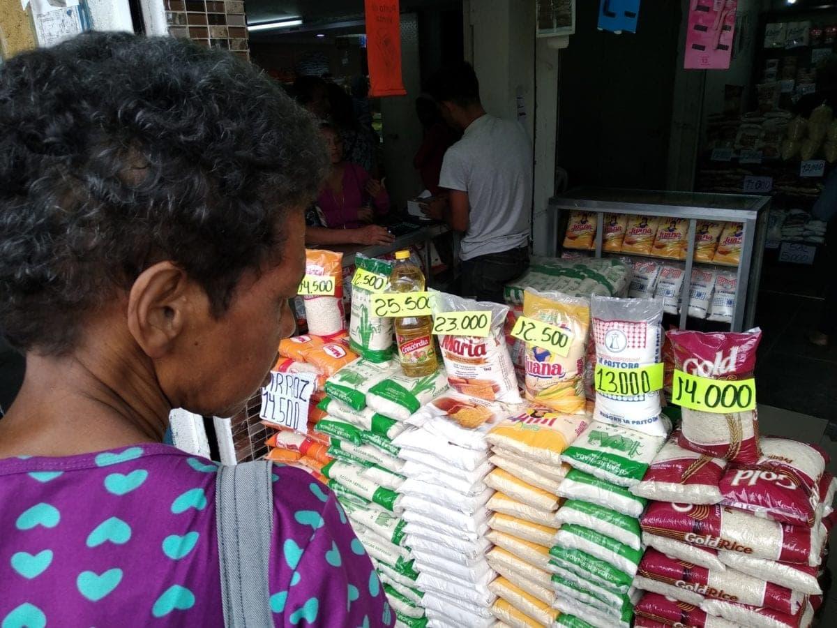 costo de alimentos casi se duplicó | ofertas de alimentos en Caracas