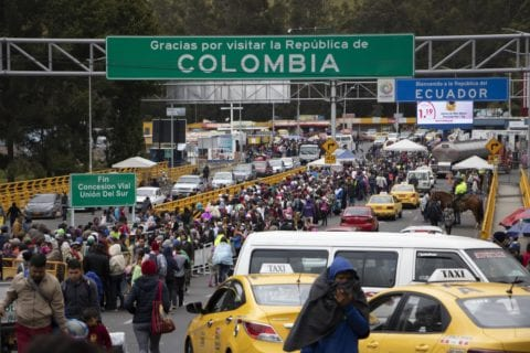 Rumichaca - visa ecuatoriana