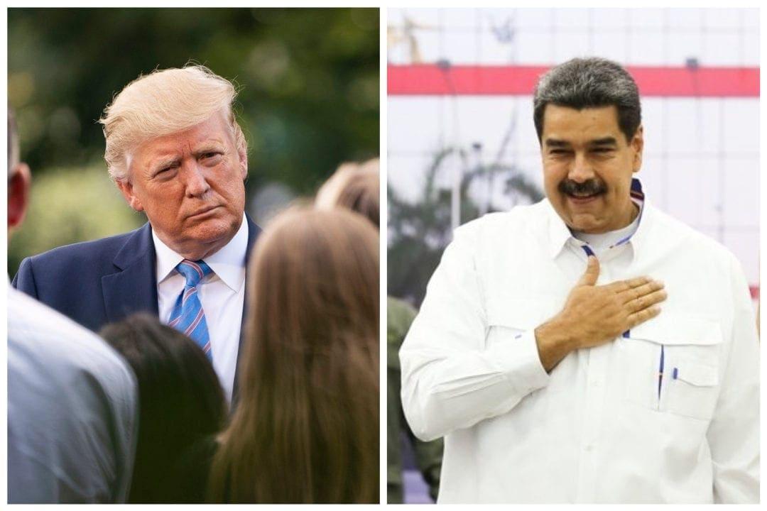 conversaciones entre Maduro y Trump