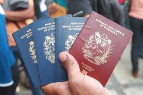 prórroga del pasaporte