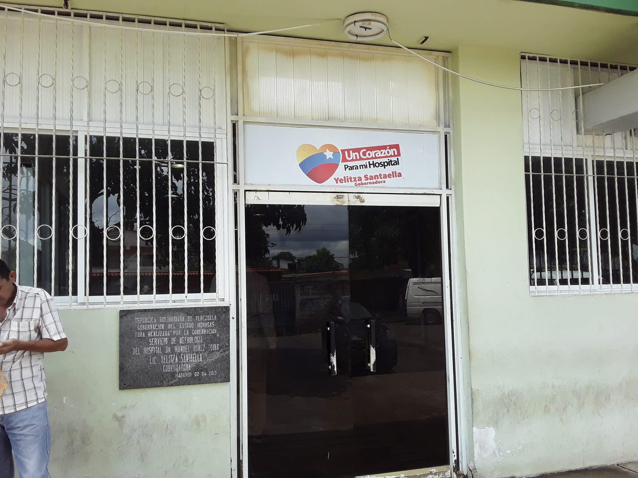 unidad de diálisis y servicio de oncología