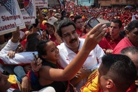 83 Precandidatos del PSUV cierran campaña en Caracas