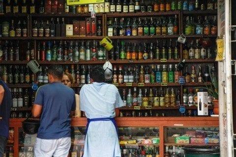 bebidas - licorerías