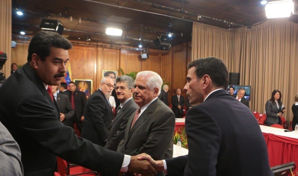 Henrique Capriles- conversaciones gobierno