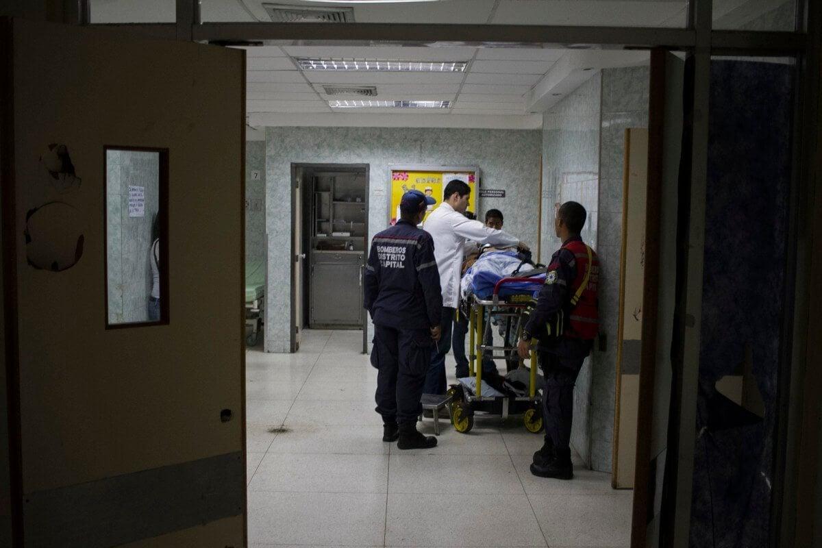 Hospital de Los Magallanes de Catia sin sangre y sin reactivos