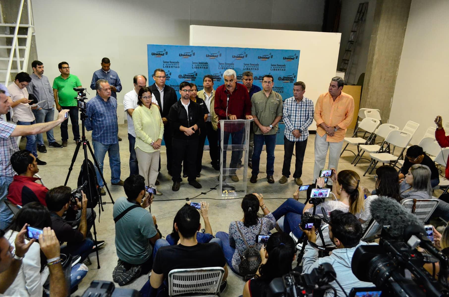 Angel Oropeza, Liliana Hernandez, Freddy Guevara, Gerardo Blyde