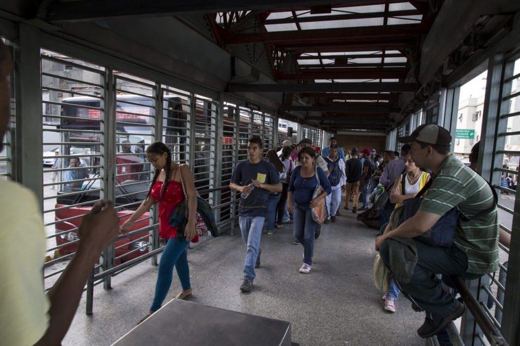 Recorrido Bus Caracas