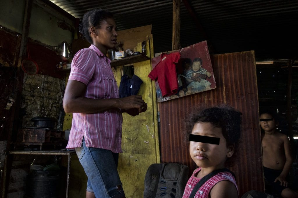 Disfrazando la pobreza caso de Carolina Luna