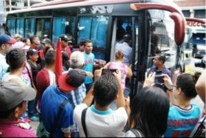 Transporte público. Transaragua