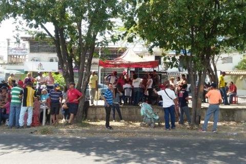 Puntos rojos repletos en Aragua durante elecciones municipales
