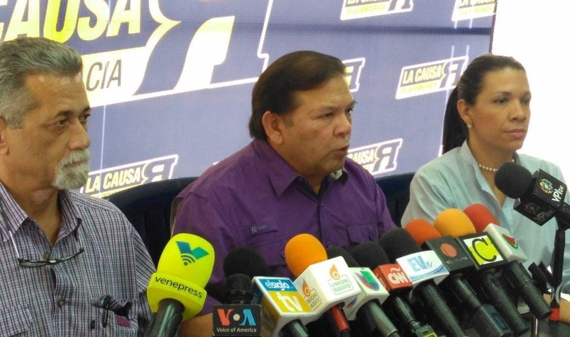 Andrés Velásquez: Cualquier acuerdo con el régimen pasa por ponerle coto a la ANC