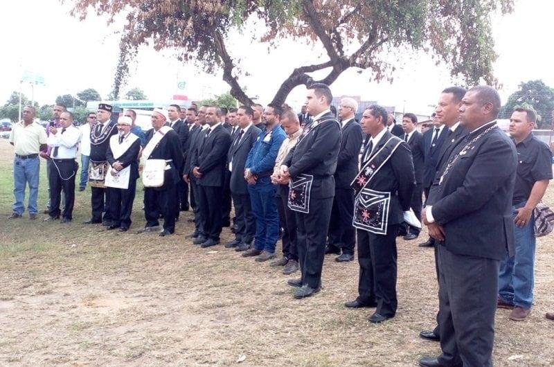 Masones de Guayana protestaron contra la ejecución de Óscar Pérez