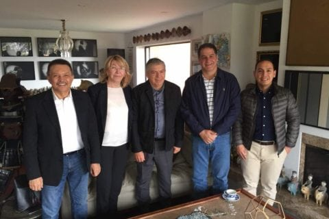 Luis Florido, Luisa Ortega y César Gaviria se reunieron en Colombia para discutir sobre Venezuela