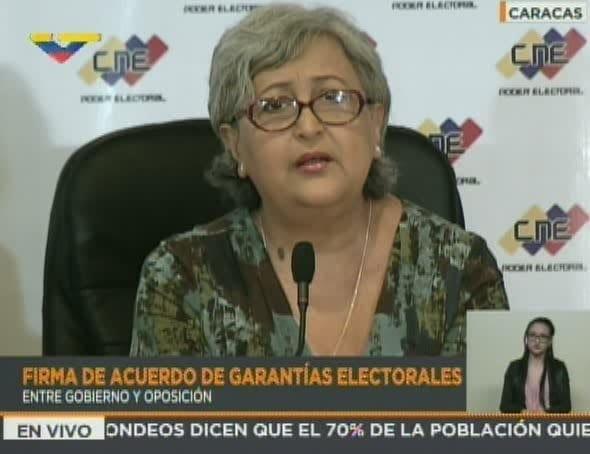CNE pospone votación para mayo