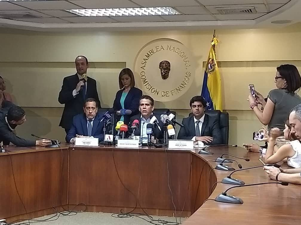 Comisión de Finanzas de la AN rechaza medidas económicas anunciadas por Maduro