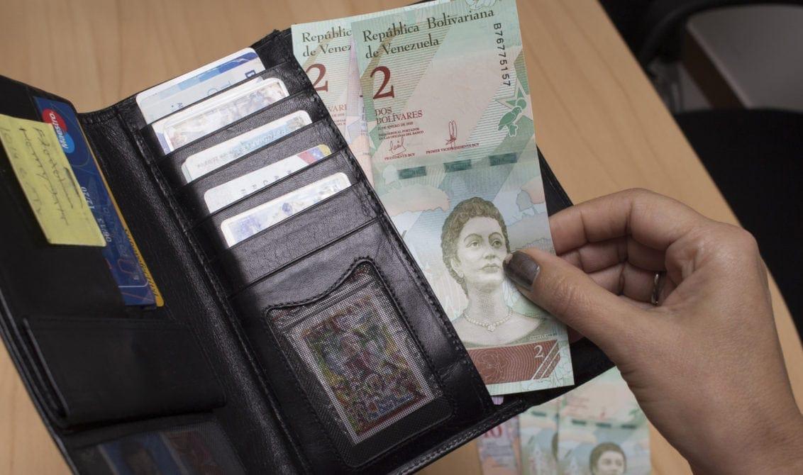 billete de Bs. S. 2 | primer aumento salarial de 2020