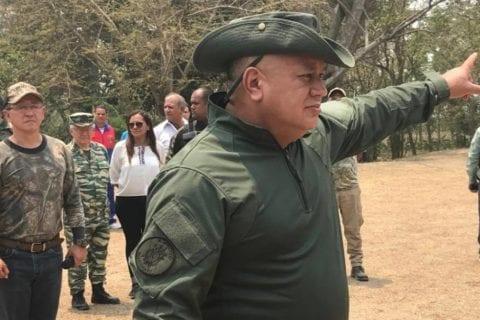 ejercicios cívico-militares | diosdado cabello