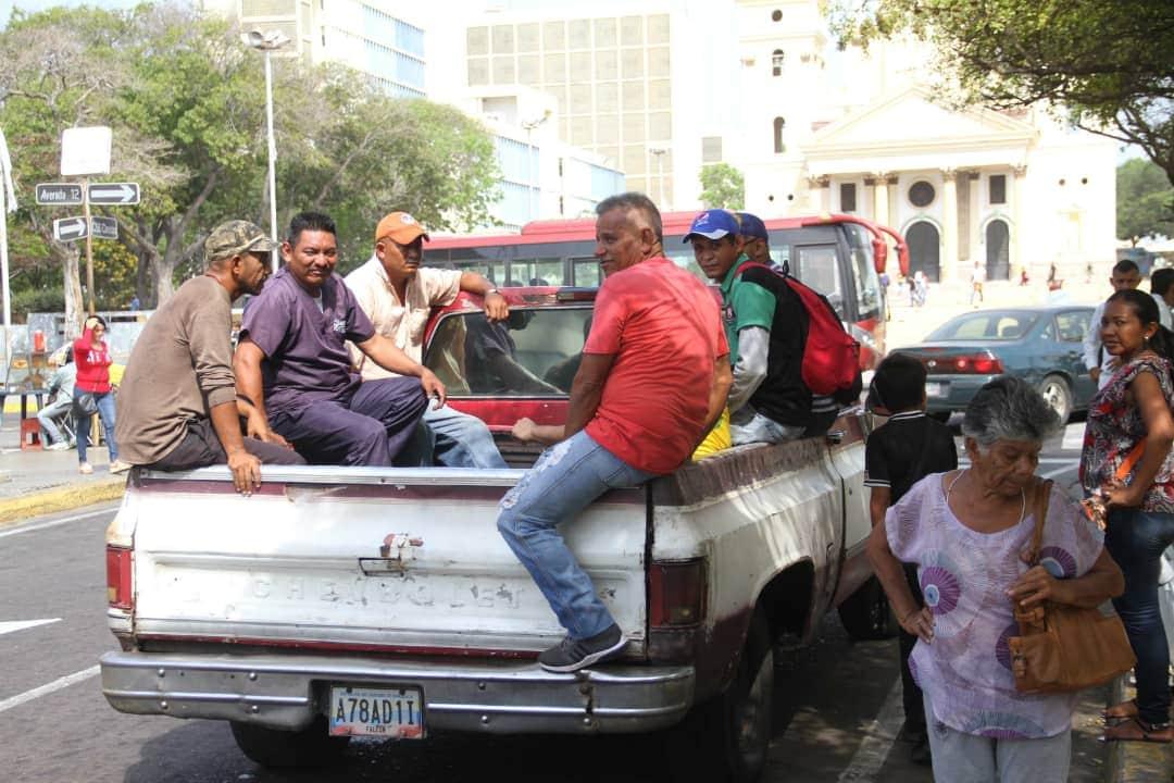 Falla de transporte Zulia