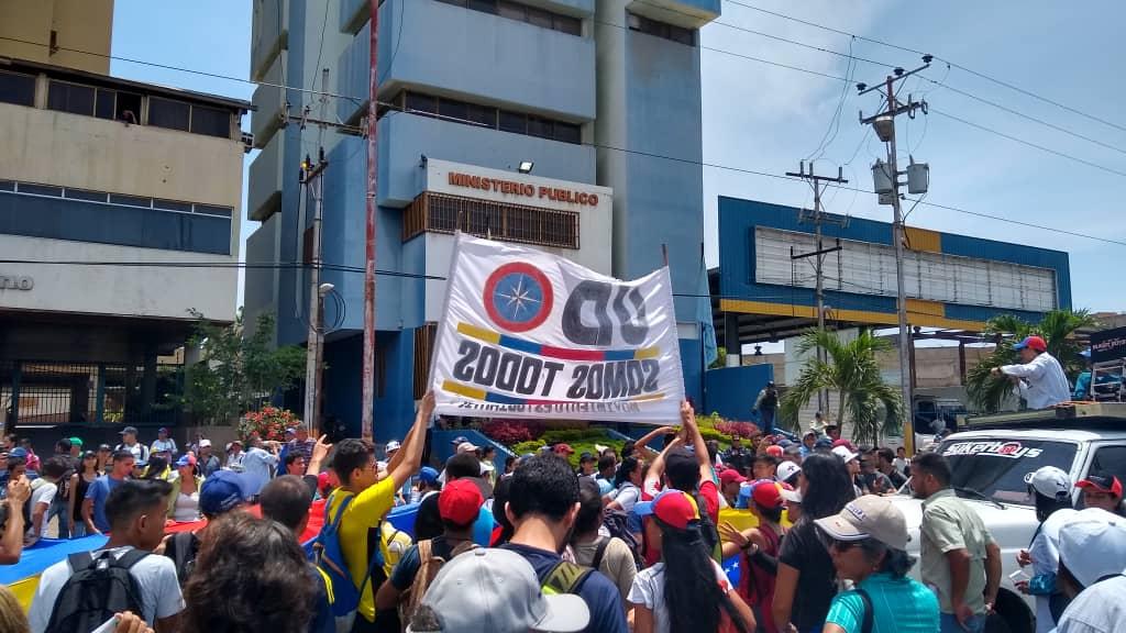 Protesta UD