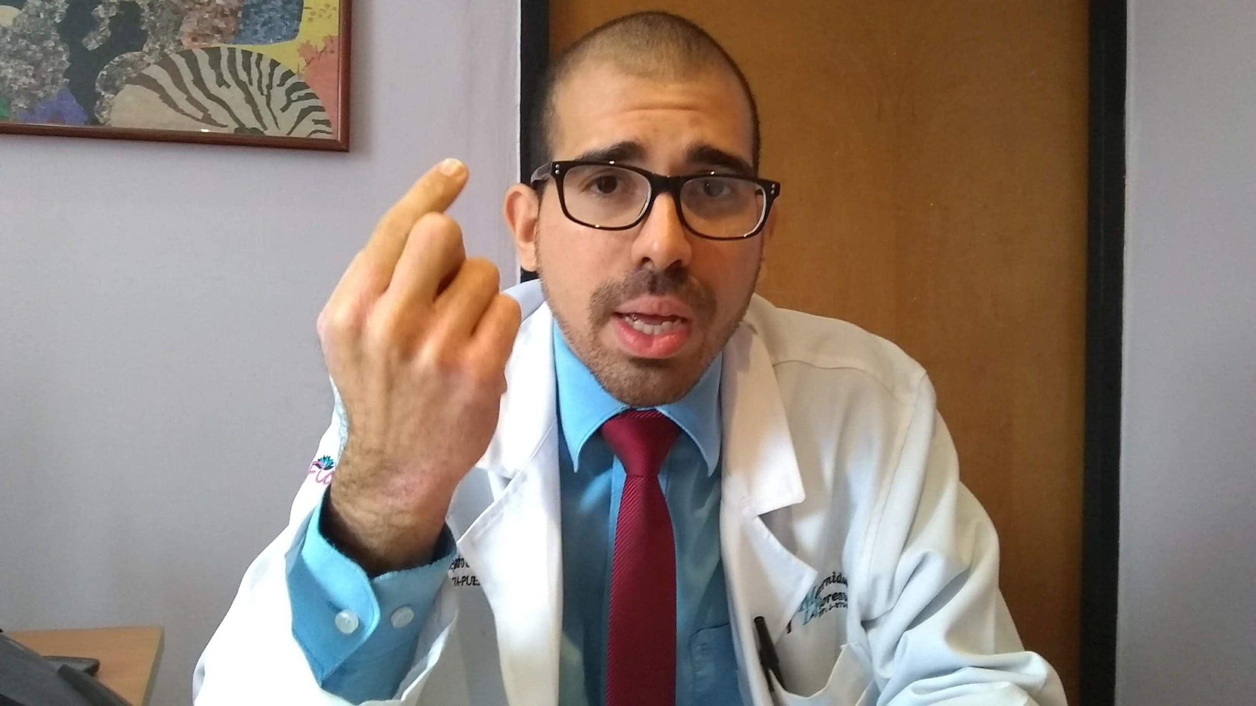 Medico pediatra Alejandro Crespo