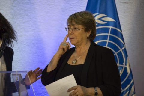 Bachelet-Derechos humanos-sanciones