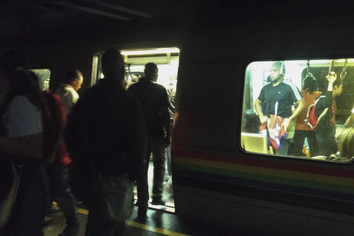operadores del metro