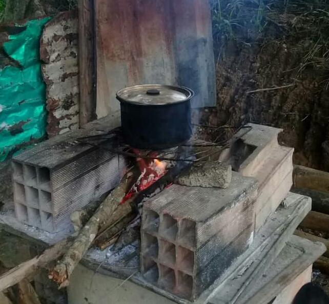 leña para cocinar