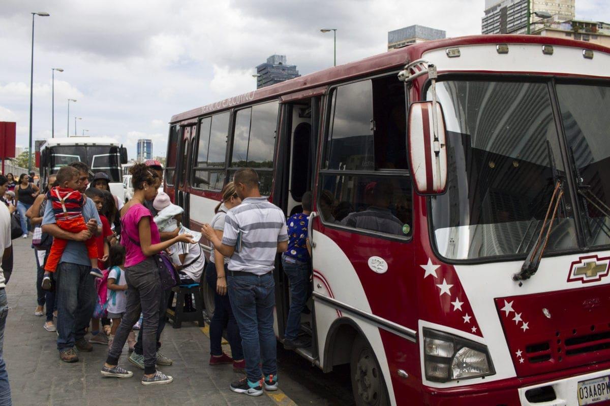 transportistas bolivarianos