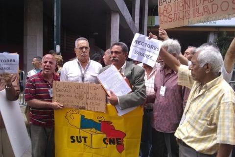 jubilados del CNE