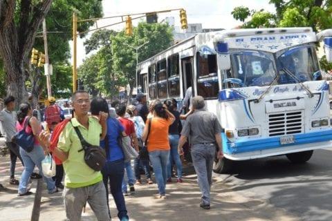 robo en autobuses
