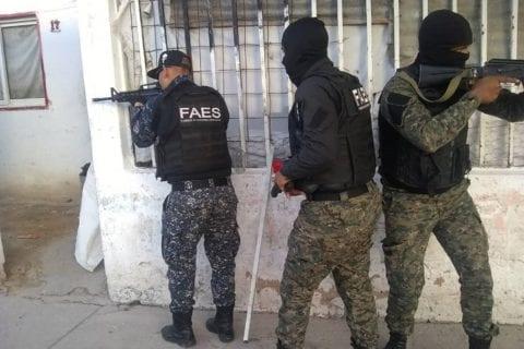 violencia policial/ajusticiamientos/las FAES