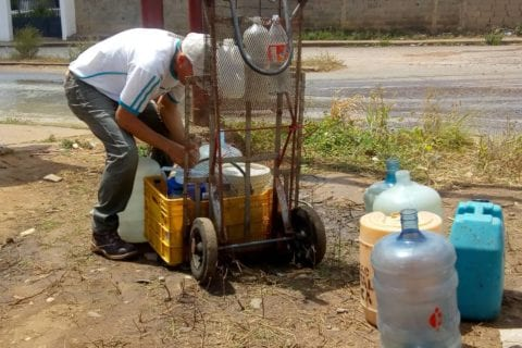 Falta de agua en sectores de Maturín