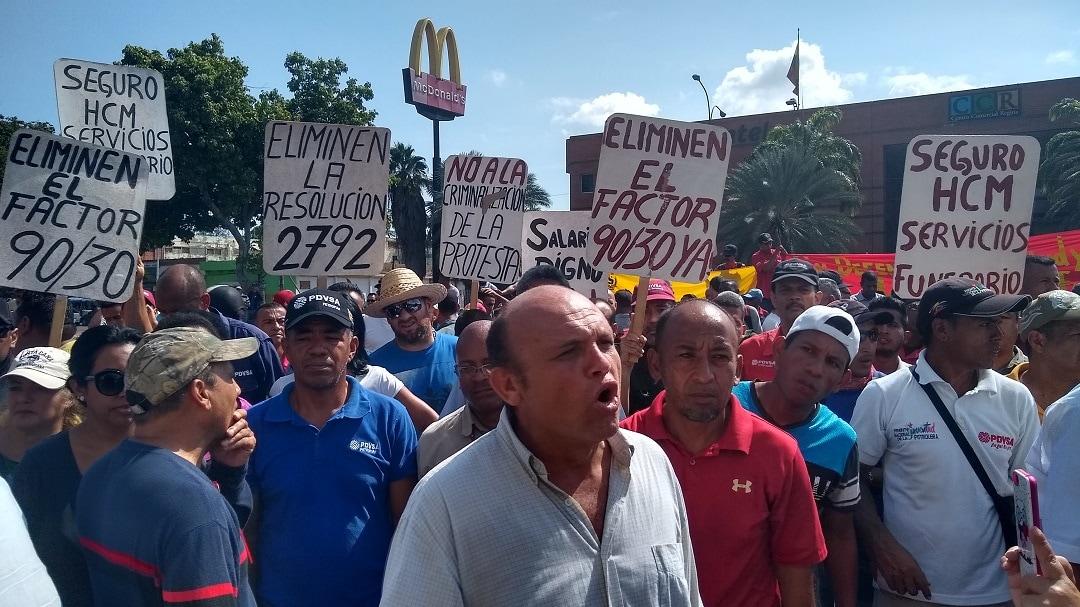 protesta-Anzoátegui-pdvsa-vencemos-crónica.uno-josé-camacho